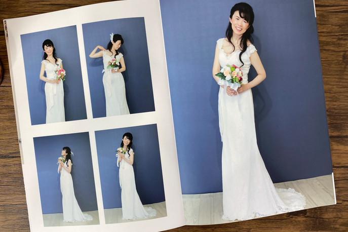白ドレス撮影