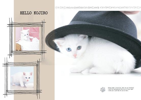 HELLO KOJIRO_ハット