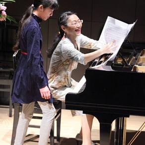 ピアノ発表会の撮影(ハートフルコンサート)