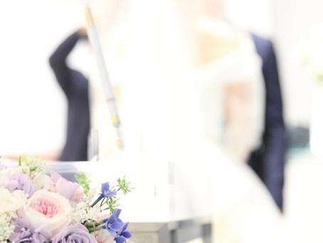 結婚式撮影(ホテルニューオータニ博多)