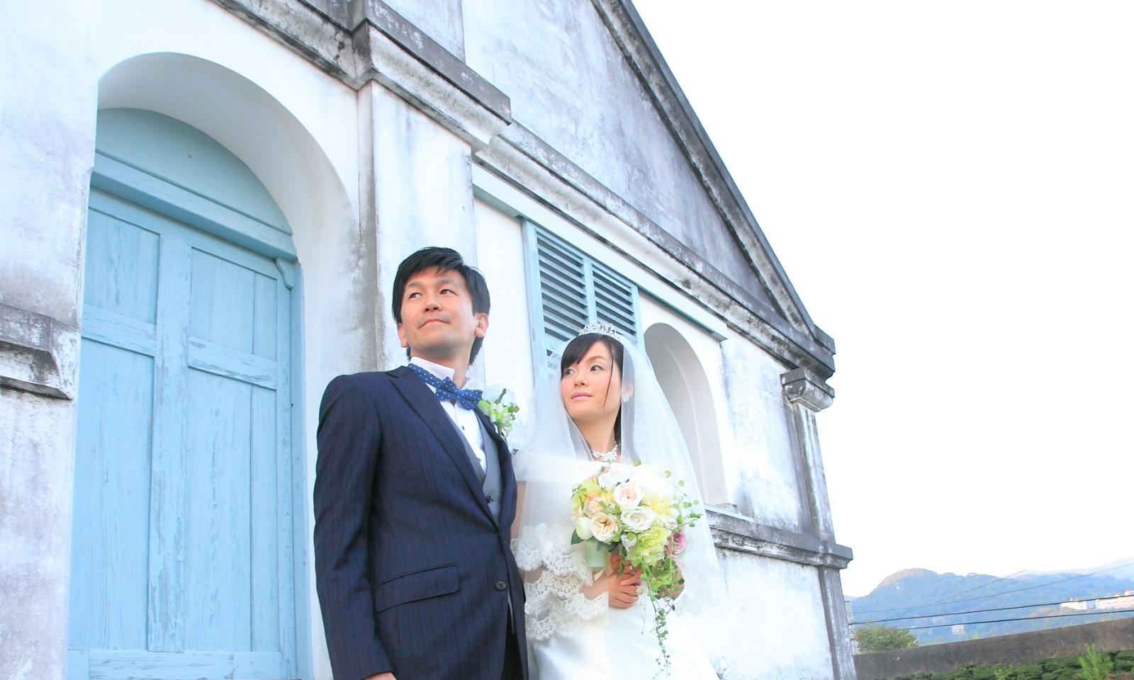 野外撮影_出津教会堂