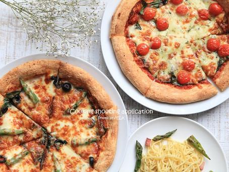 料理撮影アプリへの画像提供