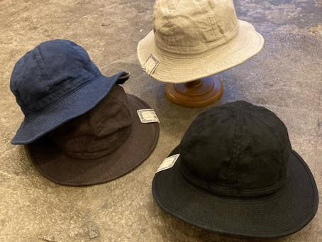 """D-00526/LINEN FATIGUE HAT"""