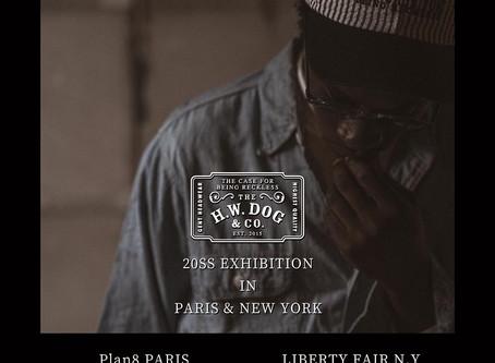 2020 S/S IN PARIS & NEW YORK