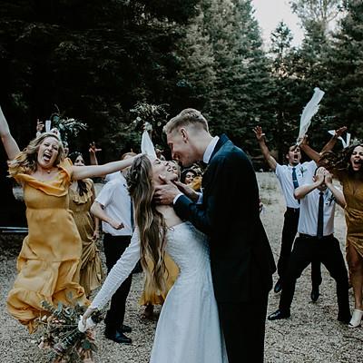 Summer and Nick // Santa Cruz Wedding