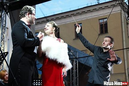 Дирижер Иван Костяхин, Минск Беларусь