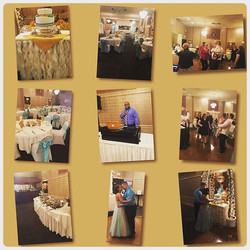 Fun Couple, Great Venue and Good Music_#weddingdjs #wedding #reception #catering #edgemountcatering