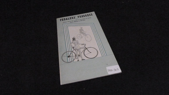 Pedlars' Progress History of the Bike Brake