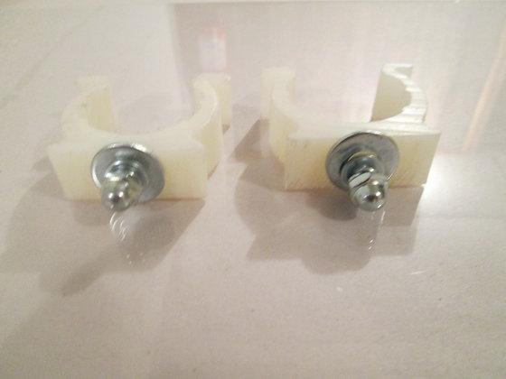 35mm Nylon Number Plate Brackets
