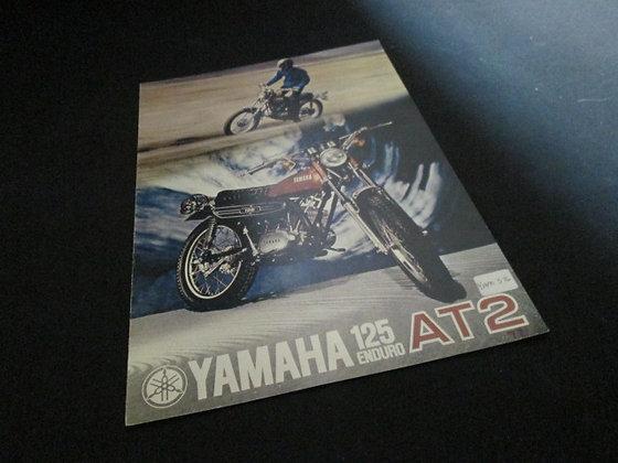 Yamaha 125 Enduro AT2 Sales Brochure