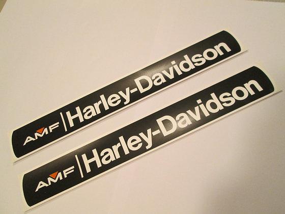 AMF Harley Davidson XRTT Tank Decals Large (pr)