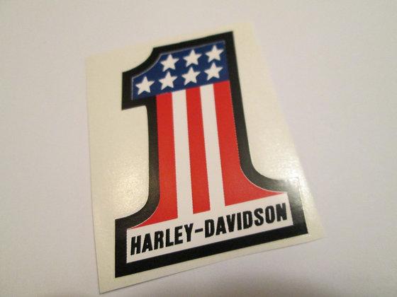 "Harley Davidson 3"" #1 Decal"
