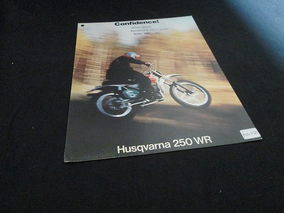 Husqvarna 250 WR Sales Flyer
