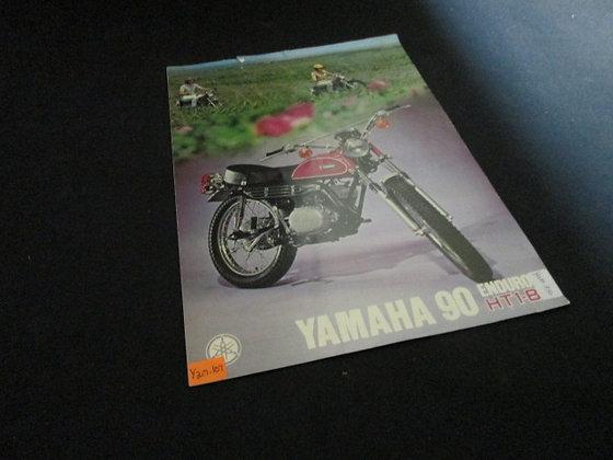 Yamaha 90 Enduro HT1-B Sales Brochure