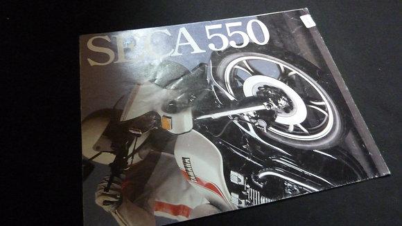 Yamaha Seca 550 Sales Brochure