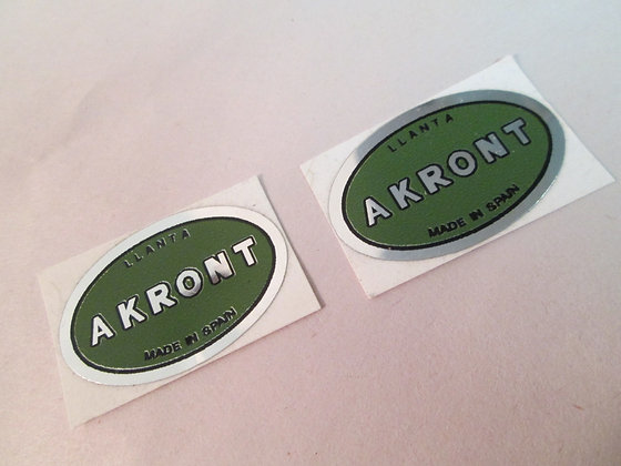 Akront Decals Harley Bultaco Pursang Astro