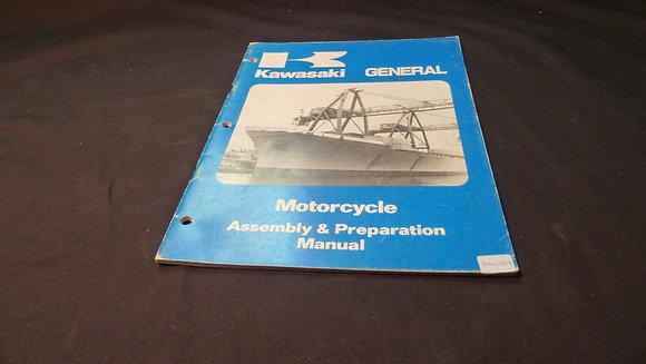 1980 Kawasaki GENERAL Assembly & Preparation Manual