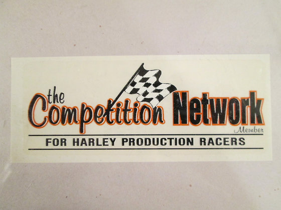 """6"""" The Competition Network Decal"""