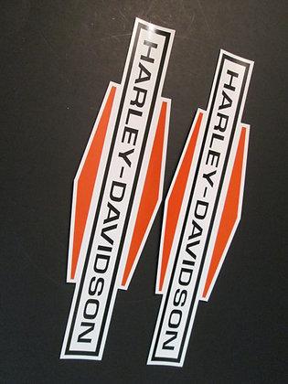 Harley Davidson XR750 XRTT XLCH CR CRTT Decals Large