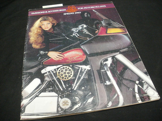 1983 Spring Fashion & Accessories for Motorcyclists Catalog