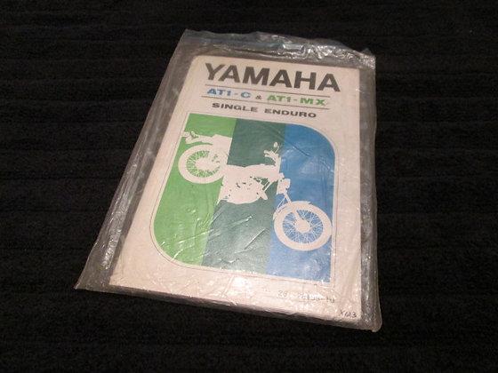 Yamaha AT1-C & AT1-MX Single Enduro Owners Manual