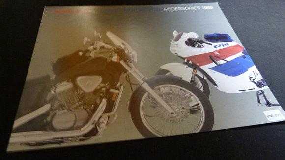1989 Hondaline Street Motorcycle Accessories Catalog