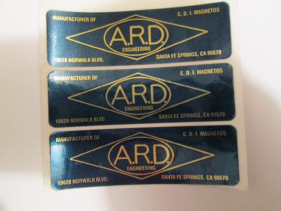 ARD Decal XR XRTT