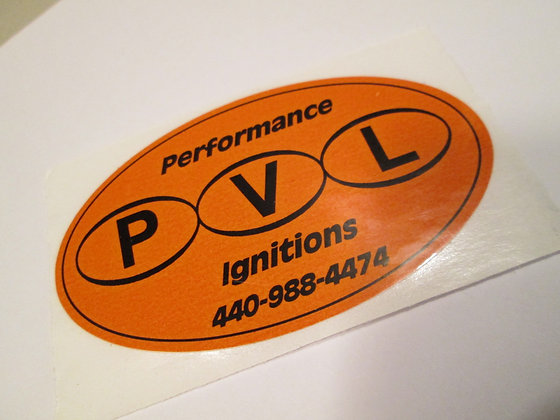 PVL Performace Ignitions Decal XR XRTT
