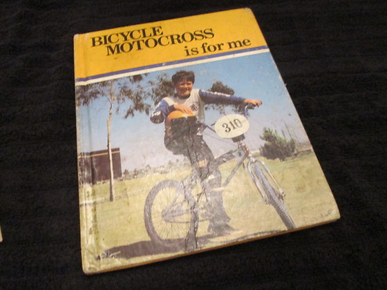 """""""Motocross Is For Me"""" Book 1982 By Tom Moran"""