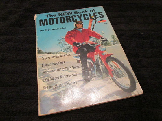 The NEW Book of Motorcycles 1968  By Erik Arctander