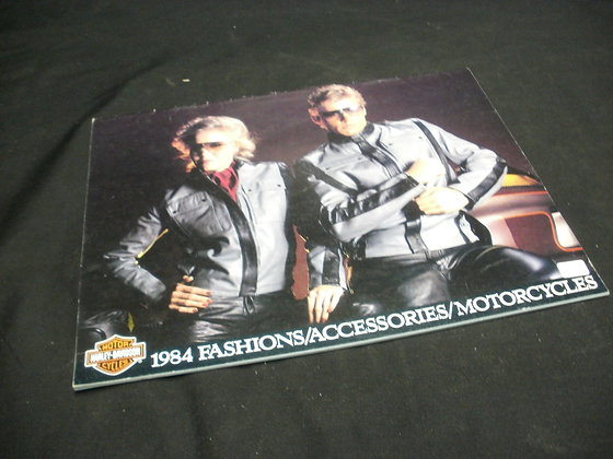 1984 Harley-Davidson Fashion / Accessories / Motorcycles