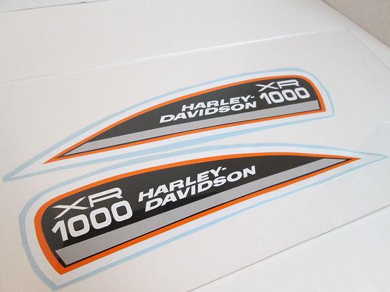 XR1000 Harley Davidson Tank Decal