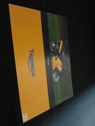Triumph TT600 Sales Brochure