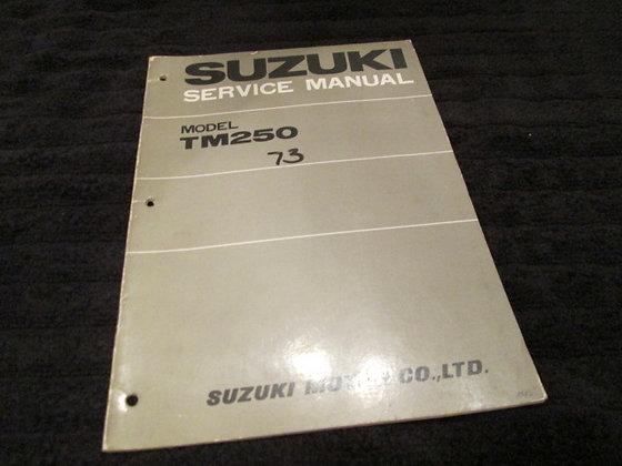 Suzuki Model TM250 1973 Service manual