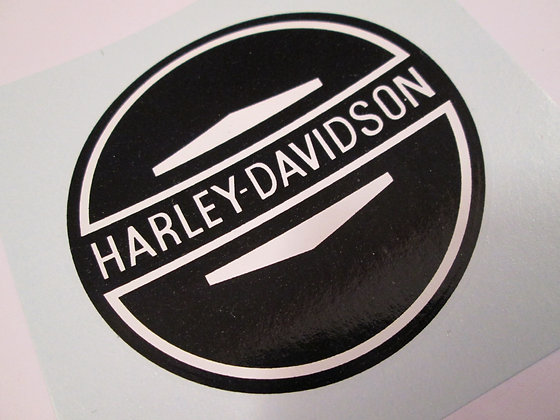 Harley Davidson Water Decals Pair