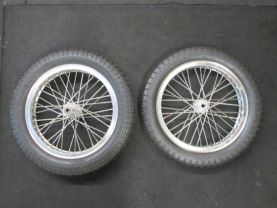 XR750 Wheel Set W/ Stainless Spoke Wheels