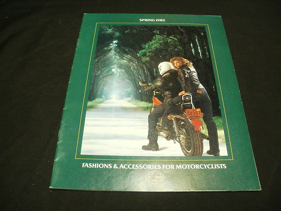 Spring 1982 Harley-Davidson Fashion and Accessories For Motorcycles Catalog