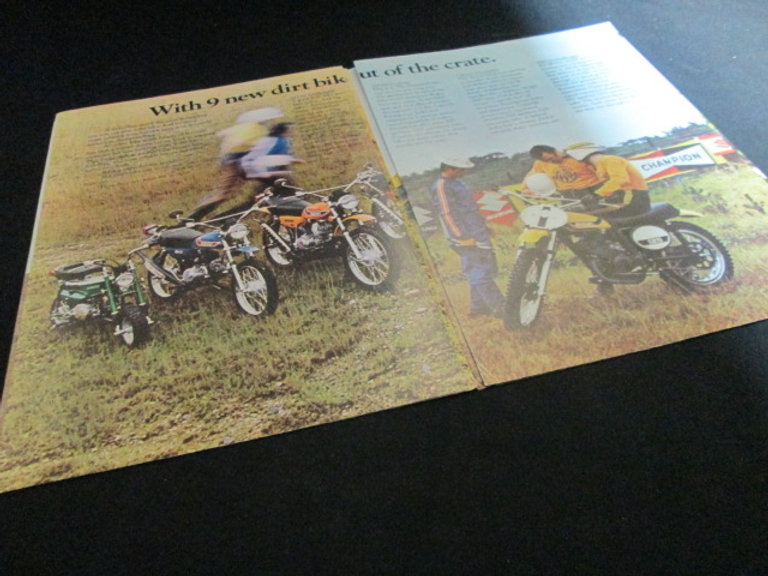 Suzuki 1973 Sales Brochure