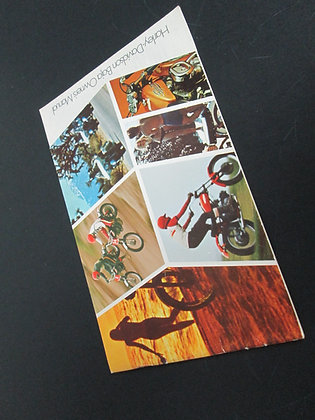 Harley Davidson Rapido 1971 Owners Manual