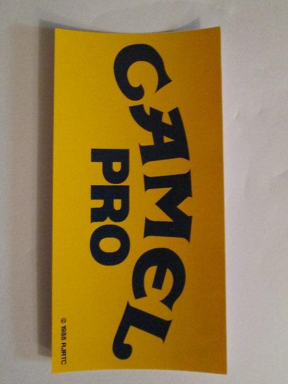 Camel Pro Decal Harley Davidson Racing and Frames