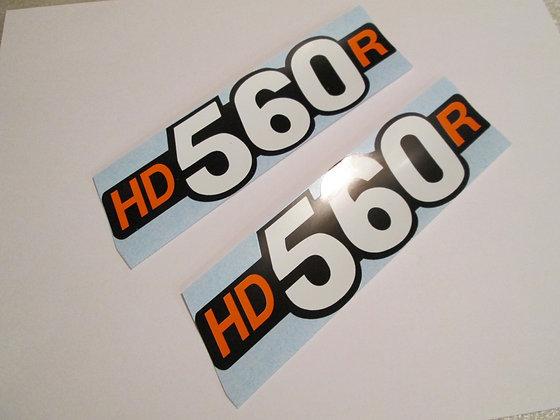 HD560R Harley Davidson/Rotax Tank Decal