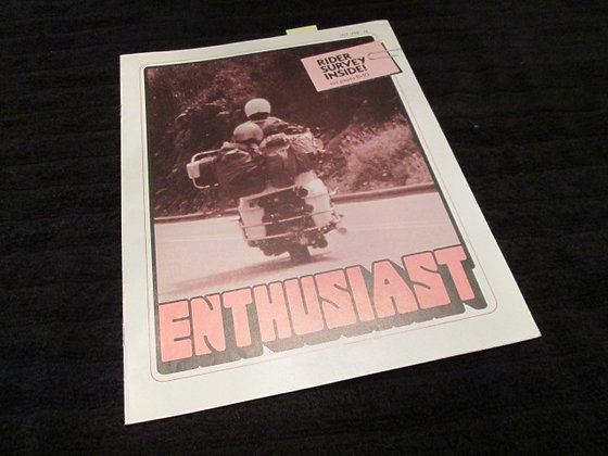 Harley Enthusiast 1976 Race Team Article