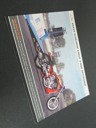 Harley Davidson VRXSE Screamin Eagle V-Rod Destroyer Sales Flyer
