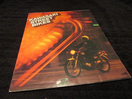 KAWASAKI 1977 Sales Brochure