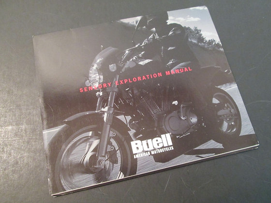 1996 S1 Lightning S3 & S3T Thunderbolt M2 Cyclone Buell Sales Brochure