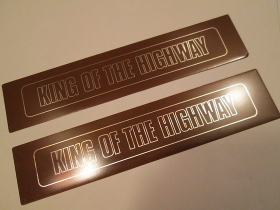 Harley Davidson King of The Highway Decal