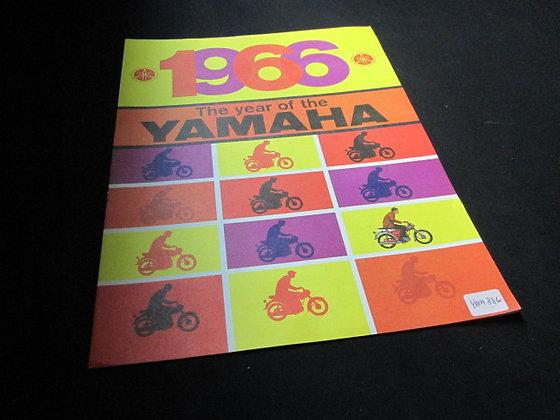 1966 Yamaha Sales Brochure