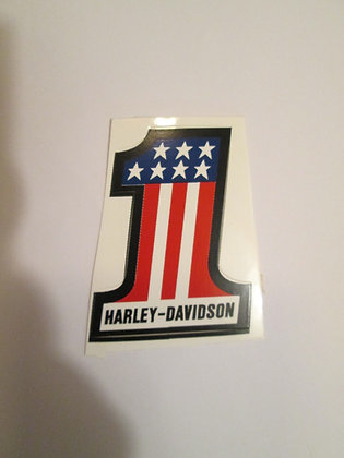 "Harley Davidson 2"" #1 Decal"