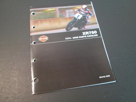 Harley Davidson XR-750  1972-2008 Service Manual XR750 Racing