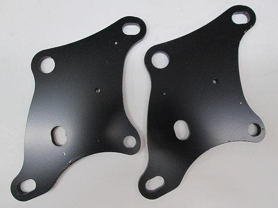 XR750 Alum Lower Front Motor Mount Plates